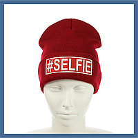 "Шапка лопата ""#Selfie"", фото 1"