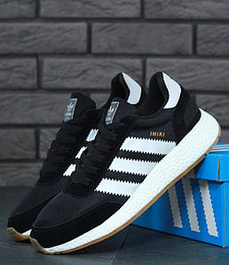 Мужские кроссовки Adidas Iniki Runner Boost Black