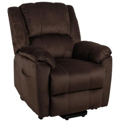 Подъемное кресло с двумя моторами HANNA (коричневое)