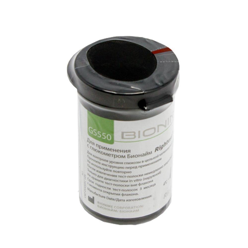 Тест-полоски Bionime Rightest GS550 10 штук