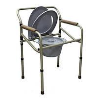 Складной кресло-стул с санитарным оснащением MED-04-011