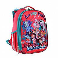 Школьный каркасный рюкзак 1 Вересня yes h-25 enchantimals для девочки (556179)