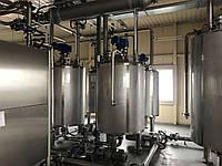 Емкость из нержавеющей стали 1 куб (1000 л.) для хранения и переработки шоколада