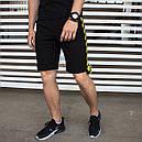 Шорты мужские черные бренд Off-White размер M, L, XL, XXL, фото 2