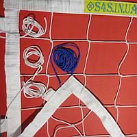 Сетка для волейбола «ЭЛИТ 15 НОРМА» с тросом белая, фото 1