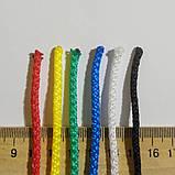 Сітка для волейболу «ЕЛІТ 15 НОРМА» з тросом чорно-біла, фото 3