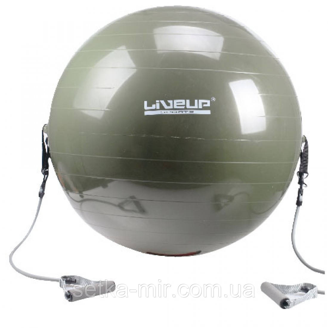 Фитбол с эспандером LiveUp Gym Ball With Expander