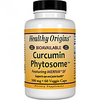 Фитосома Куркумина Healthy Origins Curcumin Phytosome 500 мг (60 желевых капсул)