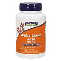 Альфа-липоевая кислота  Now Foods Alpha Lipoic Acid 100 мг (120 капсул)
