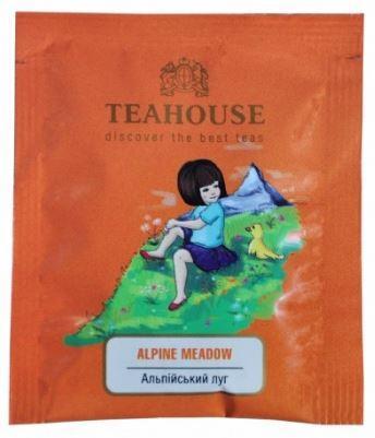 Чай пакетированный Teahouse в индивидуальной упаковке Альпийский луг 50 шт.