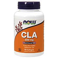 Жиросжигатель Now Foods CLA 800 мг (90 желатиновых капсул)