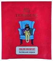 Чай пакетований Teahouse в індивідуальній упаковці Англійський сніданок 50 шт.