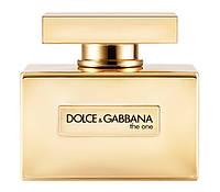Женская туалетная вода Dolce&Gabbana The One Gold Limited Edition 75 мл