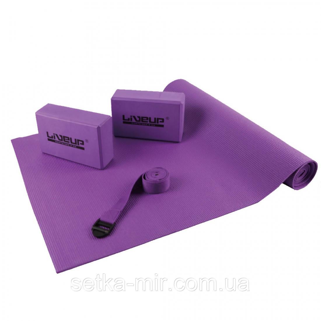 Набор для йоги LiveUp YOGA SET, LS3240