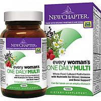 Ежедневные Витамины для Женщин New Chapter Every Woman's (48 таблеток)