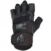 Перчатки Gorilla Wear Dallas Wrist Wrap Gloves Black