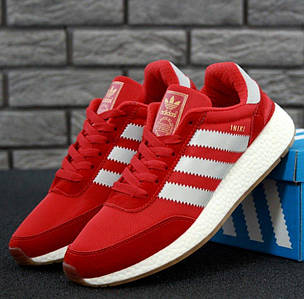 Мужские кроссовки Adidas Iniki Runner Red