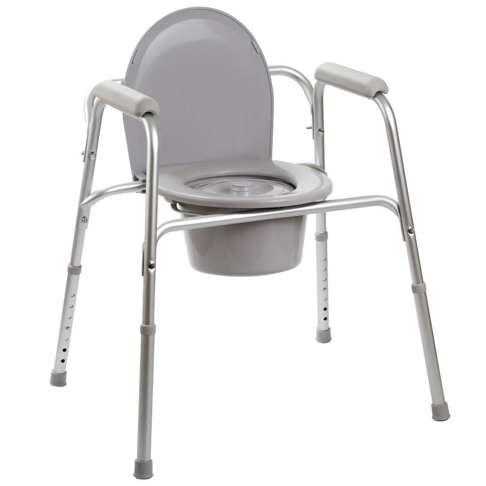 Стул - туалет инвалидный 3в1 OSD-YU-2109A