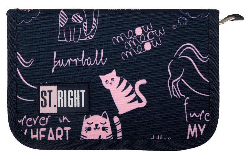 Пенал ST.RIGHT CATS