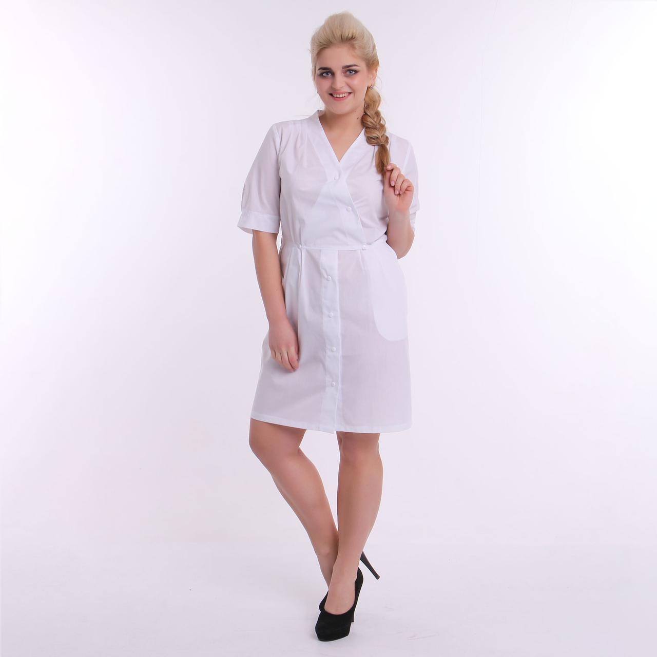 Медицинский халат, ТМ ZORYANA «Жасмин»