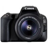 Аппараты цифровые CANON EOS 200D kit 18-55 DC