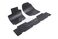 Коврики в салон Toyota Rav 4 07- Резиновые RIGUM Комплект из 4-х ковриков Черный