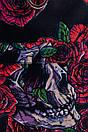 Спортивная сумка овальной формы в цветочный принт, фото 3