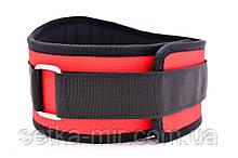 Атлетичний Пояс тканинної Wide XL червоний