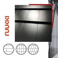 Ruukki® Hyygge | RR 33 | 0,6 mm | SSAB | GreenCoat | Crown BT - Модульная Черепица  | 0,341 m2 |