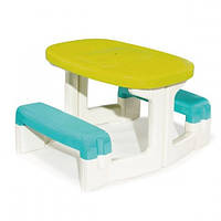 Детский столик со скамейками Smoby