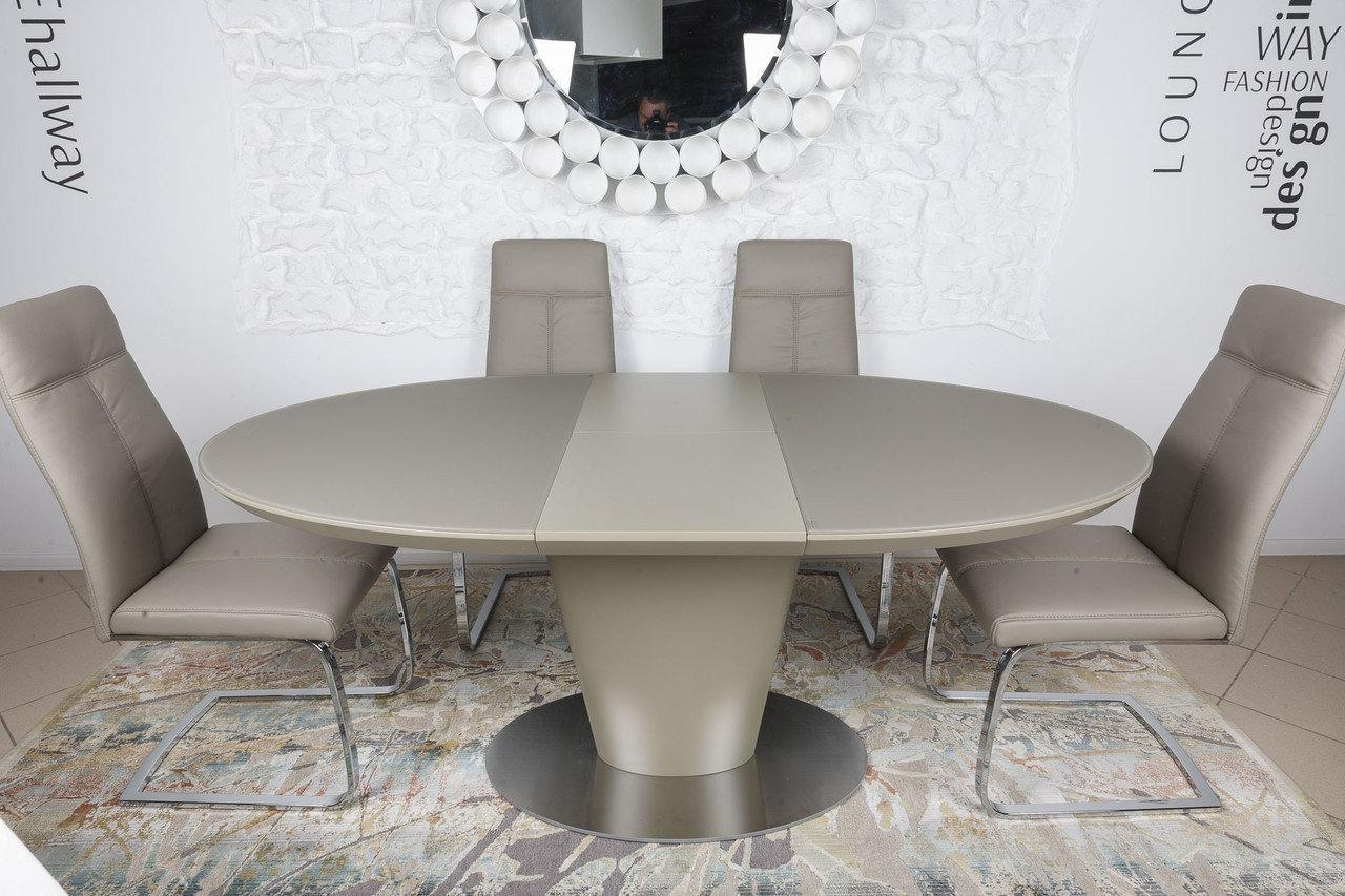 Стол обеденный Nicolas GEORGIA 140/180х95х76 см мокко