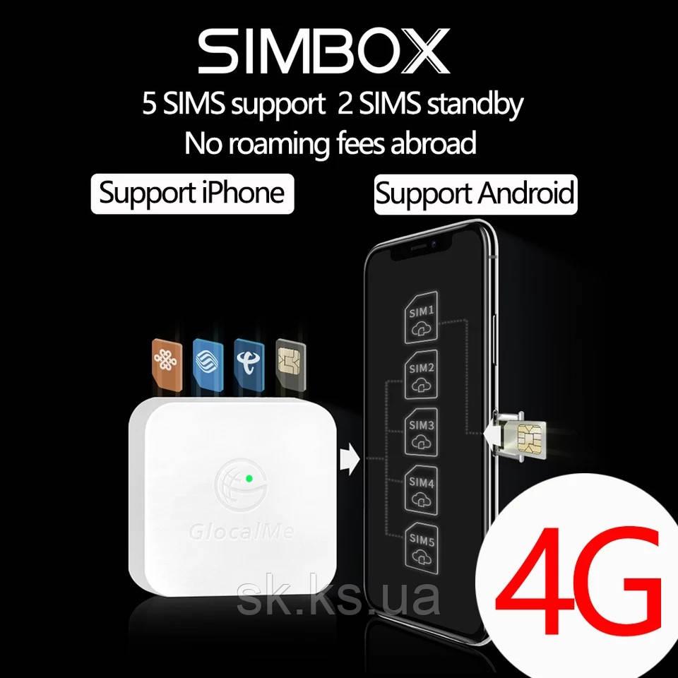 Simbox sertec globalme на 4 sim - делает со смартфона на 5-6 симок