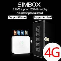 Simbox sertec globalme на 4 sim - делает со смартфона на 5-6 симок, фото 1