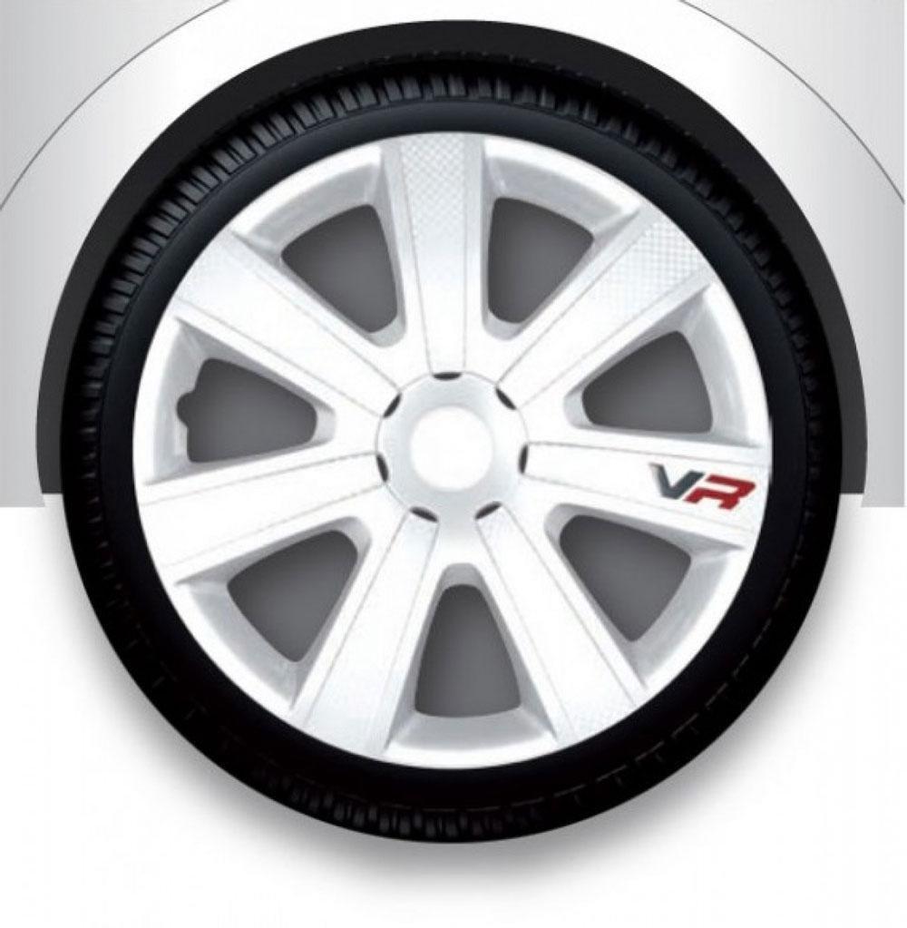 Колпаки на авто Argo VR carbon white R13 (к-кт 4 шт.)