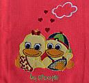 Детская футболка-поло Утята р. 74 см, 80 см (Nicol, Польша), фото 3