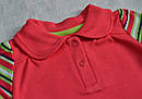 Детская футболка-поло Утята р. 74 см, 80 см (Nicol, Польша), фото 2