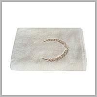 Махровое банное полотенце Crown For Men Cream 70*140