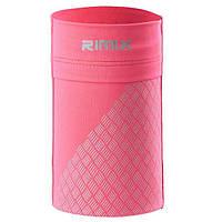 Спортивная повязка на руку RIMIX для смарфтона эластичная розовая