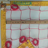 Сетка для пляжного волейбола «ТРАНЗИТ» с тросом, цвет в ассортименте, фото 1