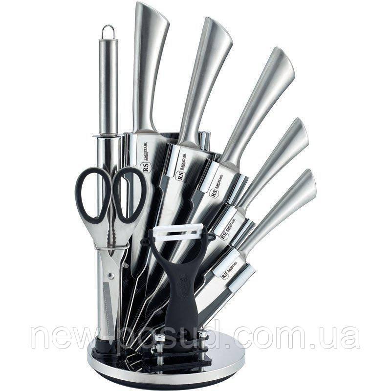 Набор ножей на подставке 9 пр. Rainstahl 8006-09 RS/KN