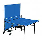 Теннисный стол складной GSI-Sport Compact Light Синий, фото 2