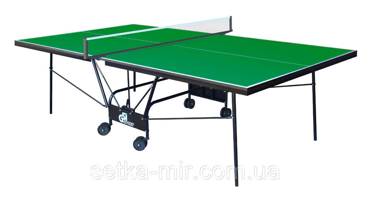 Теннисный стол складной Compact Strong Зеленый