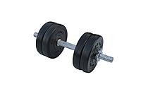 Композитные гантели - 1 шт. на 6,5 кг с хромированным грифом и ABS покрытием