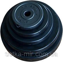 Диски бітумні 31 мм (млинці в пластиковій оболонці, чорні)