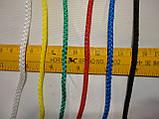 Сетка для футбола повышенной прочности «СТАНДАРТ 1,5» сетка футбольная желто-синяя (комплект из 2 шт.), фото 3