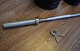 Штанга на 100 кг з протиударним ABS покриттям, фото 3