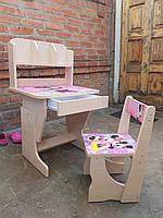 """Детская парта и стул растишка """"Минни Маус"""""""