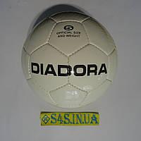 Мяч футбольный Diadora, бело-желто-черный, р. 5, ламинированный