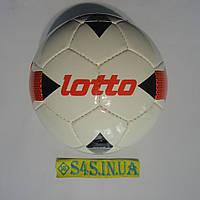 Мяч футбольный Lotto, бело-черно-красный, р. 5, ламинированный