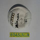 Мяч волейбольный Mikasa G14 White, фото 3